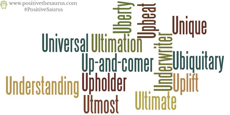 Positive nouns starting with u www.positivethesaurus.com #positivitydictionary #positivenouns #nouns #positivesaurus