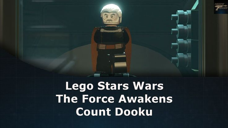 Lego Star Wars The Force Awakens Count Dooku Probably Your Last Or Only Missing Carbonite