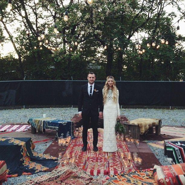 Our stunning customer, Leah, on her beautiful wedding day @Imogene Threadgood + willie. via @The Lane Style House.