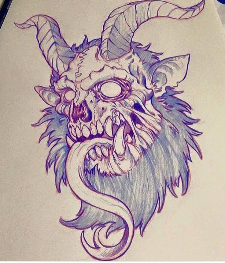 Krampus tattoo