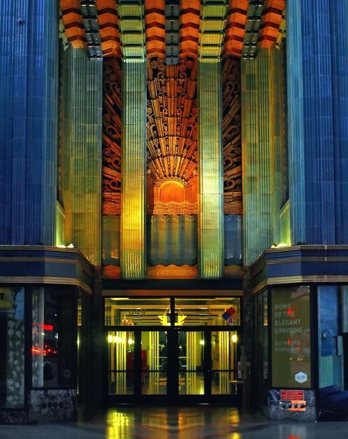 The Grand Art Deco Entryway For The Eastern Building On