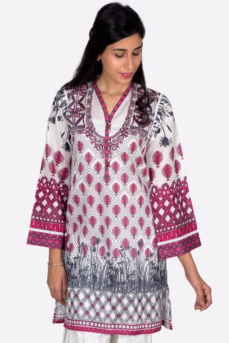 Pakistani Ready To Wear Cambric Kurti By Zeen Cambridge Pre Fall Cambric Collection 2017 Is Available Online For Shopping On Discount.  #wintercollection  #blackfriday #readytowear #pretwear  #unstitched #online  #linen #linencollection  #lahore #karachi #islamabad #newyork #london  #pakistan #pakistani #indian #alkaram #breakout #zeen  #khaadi #sanasafinaz #limelight #nishat #khaddar #daraz #gulahmed #2017 #2018  #blackfriday #pakistani_dresses #best_price #indian_dresses