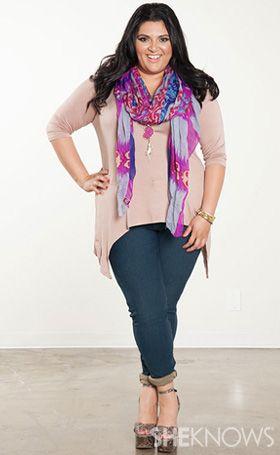 Plus size fashion advice  SheKnows.com #marcyguevara #sheknows #plussize