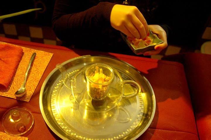 Preparazione del tè