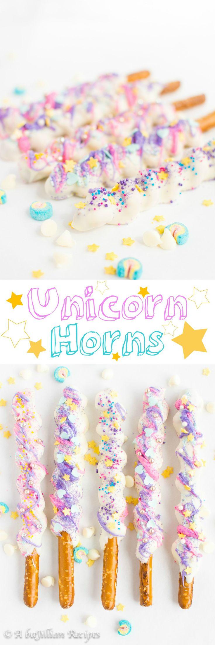 Unicorn Horns | A baJillian Recipes