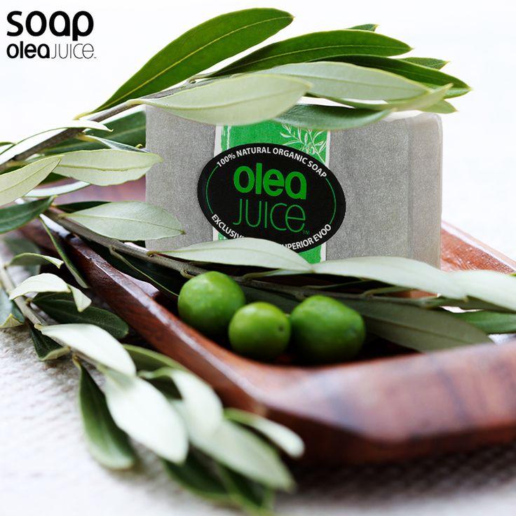 Olea Juice Soap με Φύλλα Ελιάς χωρίς αρώματα, εμπλουτισμένο μ το εξαιρετικό παρθένο ελαιόλαδο δικής μας παραγωγής!! #organicsoap #oleajuice #soap #handmade #artisanal