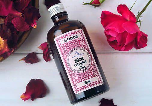 ModraPupava / Ružová kvetinová voda (100 ml)