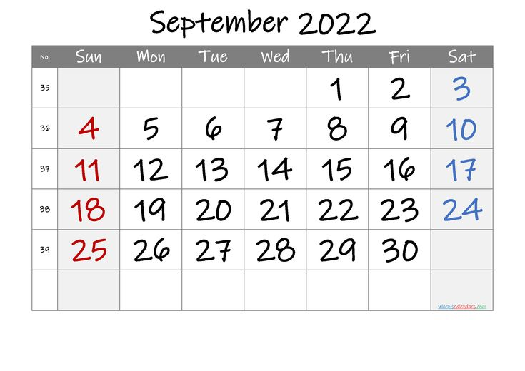 The spruce / lisa fasol these free, printable calendars for 2021 won't just keep you organized; September 2022 Printable Calendar with Week Numbers [Free ...