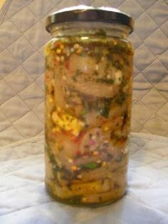 Flavors Of Italy: Nonna's Pickled Eggplant (Melanzane Sott'olio)