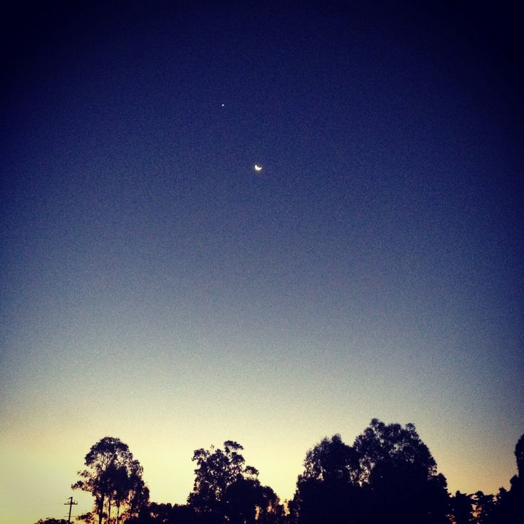Make a wish- Moon and first star