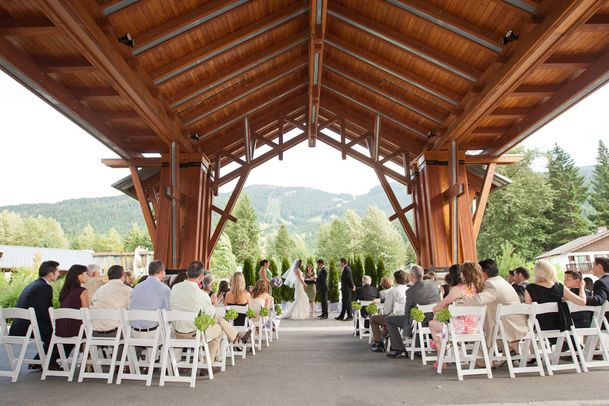 nita lake lodge wedding ceremony rustic whistler. Nice looking Venue.