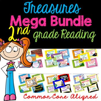 This is a bundled set of 31 of my individual listings of common core aligned activities for Grade 2, Unit 1-Unit 6 and Smart Start Treasures reading. This bundled price is a 20% discount! To view a sample of the activities included in this listing,