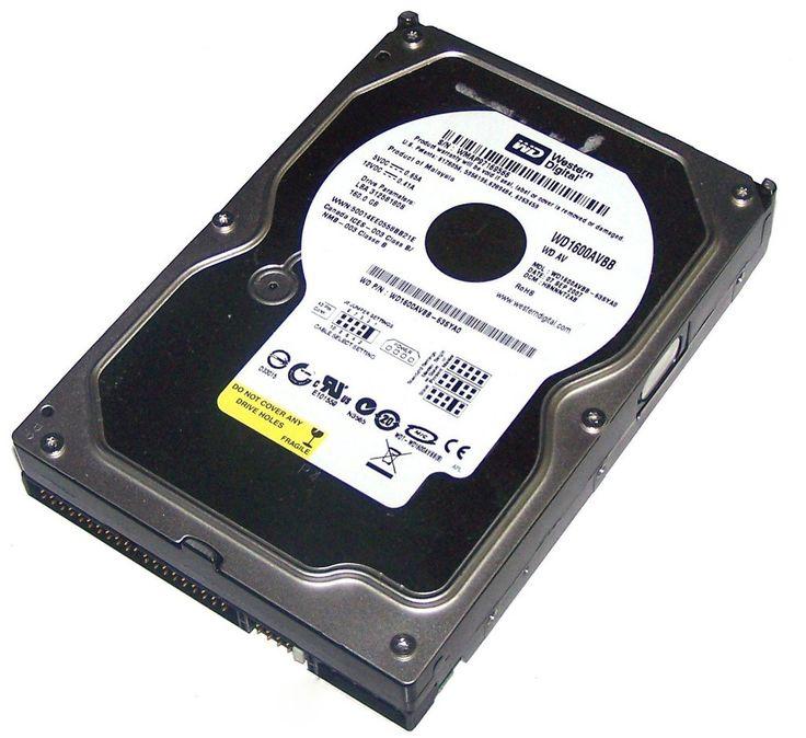 WD WD1600AVBB - HDD - 160GB - ATA-100