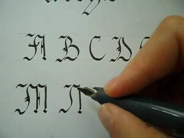 Best images about calligrapy tutorials on pinterest