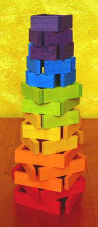 Color Somewhere Over the Rainbow!!! Stackables.