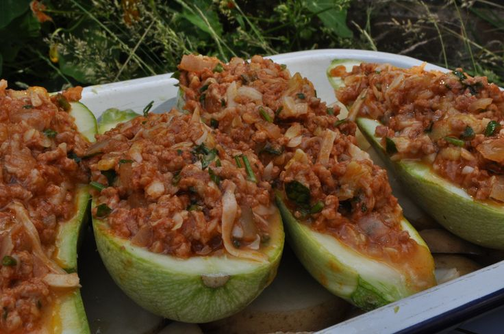 Maltese Stuffed Marrows (Maltese Food, Maltese Recipes, Maltese Cuisine)