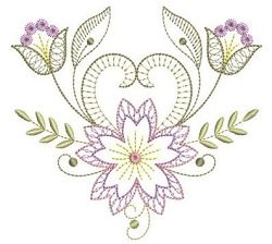 Rippled Bloom 12 - 3 Sizes! | Floral - Flowers | Machine Embroidery Designs | SWAKembroidery.com Ace Points Embroidery