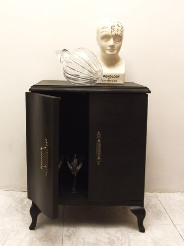 Upcycled Small Cabinet | Oddity-London Shop