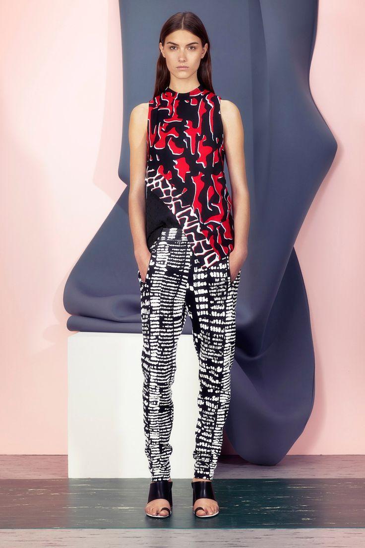 Proenza Schouler Resort 2015 Fashion Show - Ronja Furrer