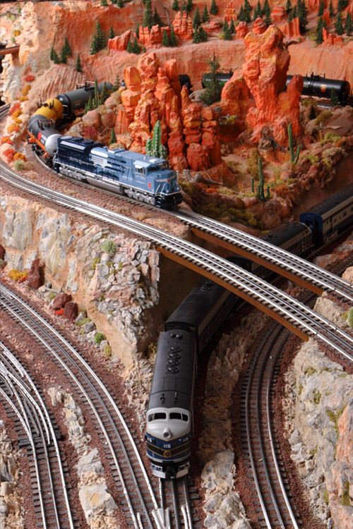 redrocks #latelye #modeltrain                                                                                                                                                                                 More