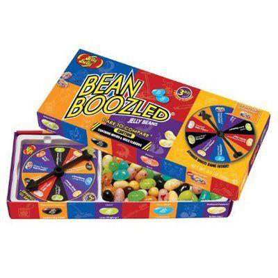 JELLY BELLY BEANS BEANBOOZLED SPINNER WHEEL GAME BOX