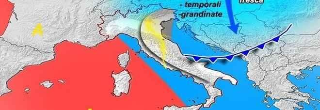 Meteo: godiamoci questa domenica: arriva la perturbazione della settimana di Pasqua Sole e temperature in aumento, con punte di 25 gradi al Centronord, ed in particolare in Toscana: sono le previsioni per il weekend dei meteorologi del Centro Epson Meteo-Meteo.it.    «L'alta pressio #meteo #previsionipasqua #peggioramenti