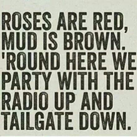 Redneck quotes! Yup! @Sierra Watts