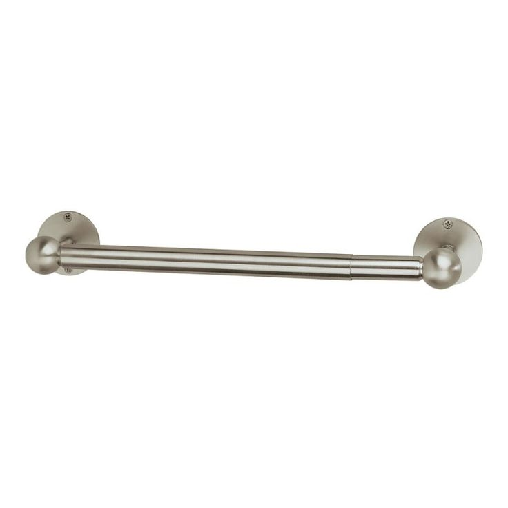 Gatco 1434 Contemporary Paper Towel Holder Satin Nickel Accessory Tissue Holder Wall Mount