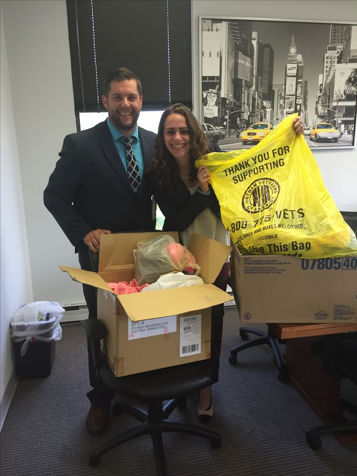 The team from Shore Thing Marketing had a great time collecting household items and clothing for the Vietnam Vets.  Thank you to everyone who donated items they were no longer in need of.  #charity #fortunate #giving #donate