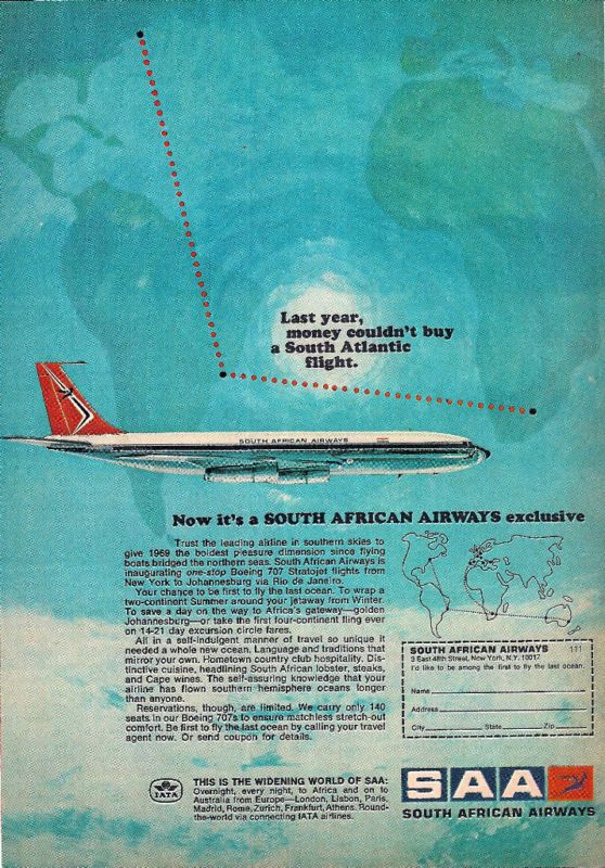 South African Airways Ad