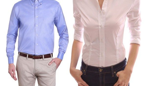 Here is Why Women Shirts Button on the Opposite Side of Men