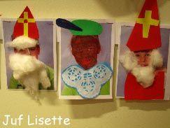 De kinderen worden zelf een Sint of een Zwarte Piet !
