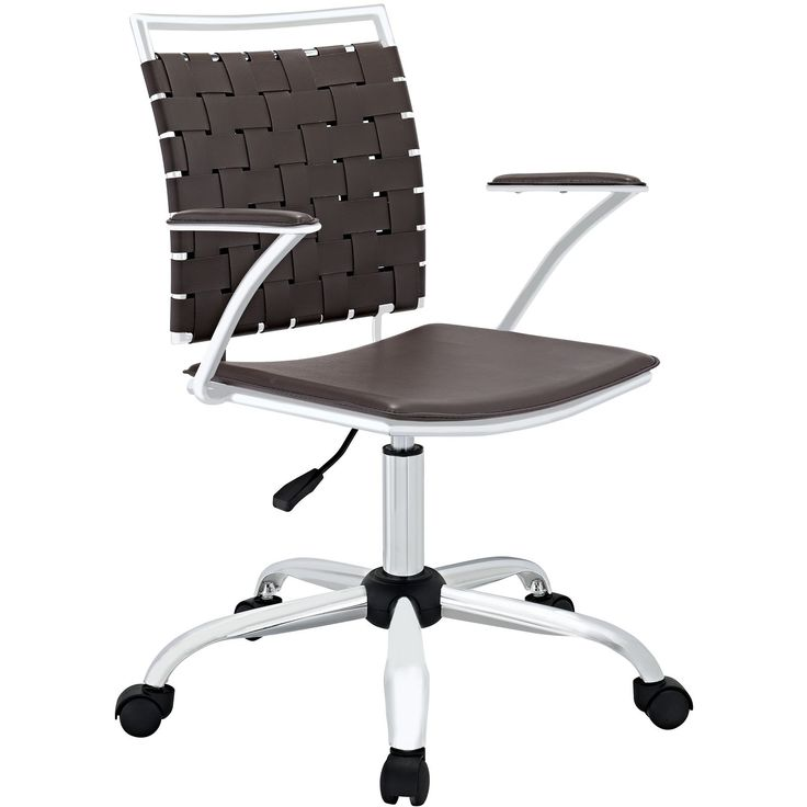 Modern Contemporary Office Chair Brown