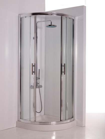 Esta es nuestra ducha. es bastante espaciosa y moderna.