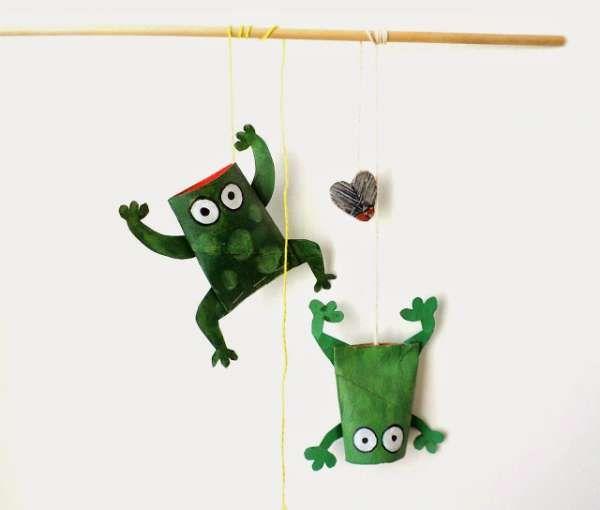 17 idées amusantes pour les enfants avec des rouleaux de papier toilette