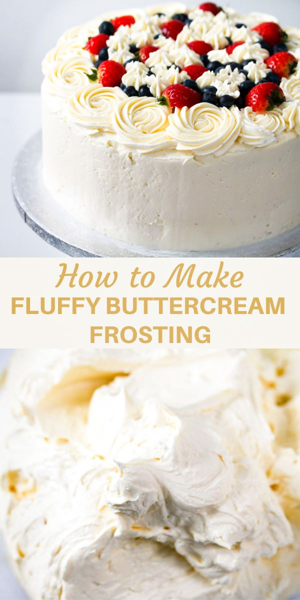 Ever wondered how to make fluffy buttercream frosting? All you need is a few simple ingredients and your buttercream wil…