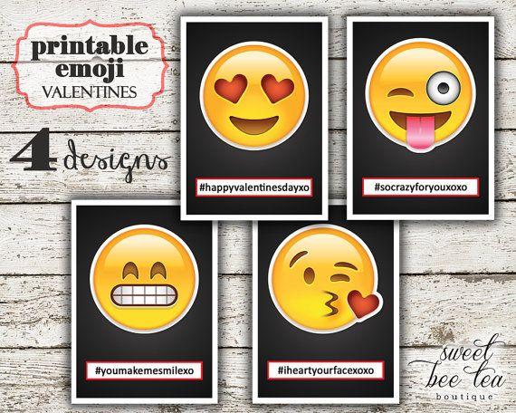 25 best ideas about Valentines day emoji – Boy Valentines Cards