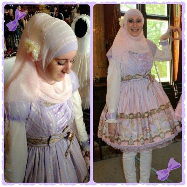 Sugarnoor Muslim lolita UK