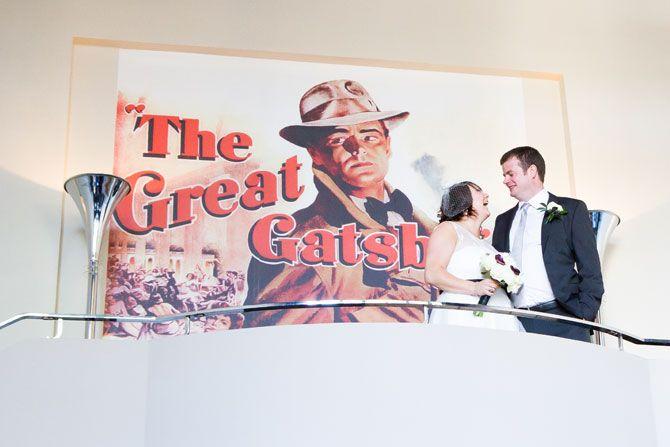 Wedding reception at the Gatsby Berkhamsted Hertfordshire