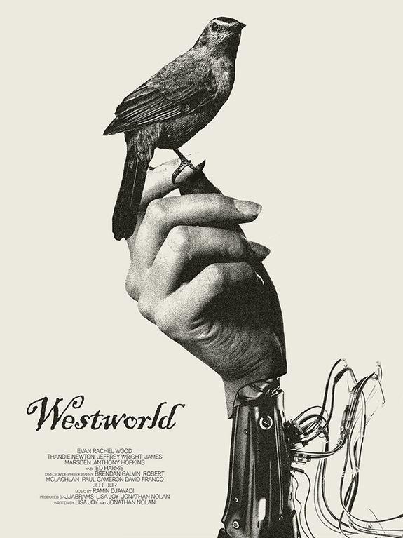westworld fan poster