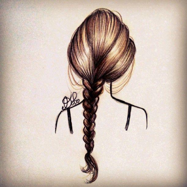 Hair Braid by DebbyArts.deviantart.com on @deviantART