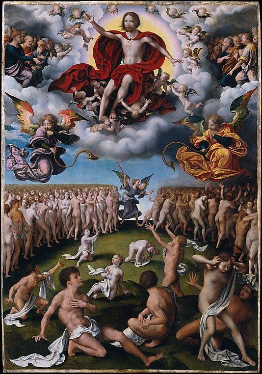 The Last Judgment    Joos van Cleve  (Netherlandish, Cleve ca. 1485–1540/41 Antwerp)     Date: ca. 1520–25  The Metropolitan Museum