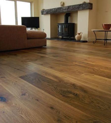Furlong Next Step 189mm Oak Smoked Engineered Wood Flooring Brushed & Oiled
