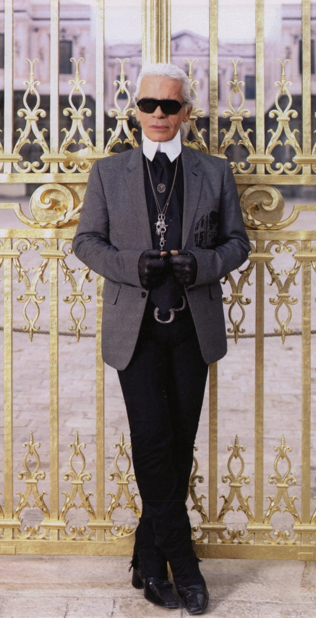 Chanel Maestro Karl Lagerfeld and Things That Inspire Him