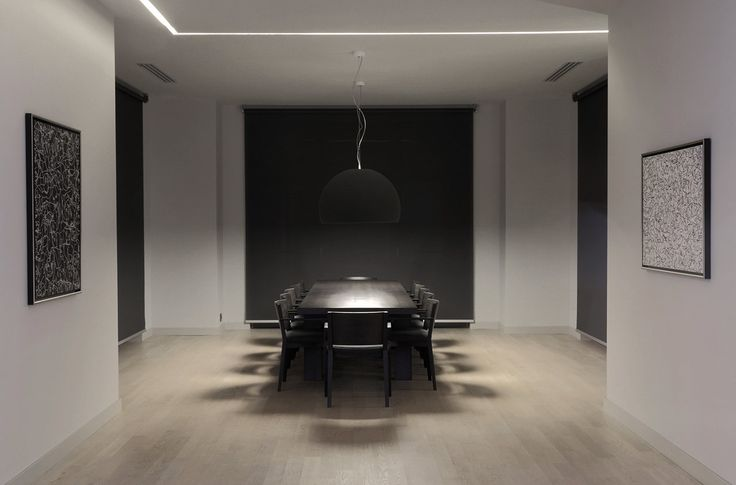 PULVA, minimalistic, interior design, minimal, modern, materials, home, homestyle, house, dom, dining room, table, chair, porro