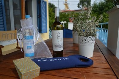 Greek ouzo - kefalonian wine - greek koufeta #weddingfavors #weddingingreece #weddinginkefalonia