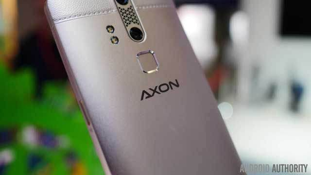 ZTE Axon Elite, Fitted Eye Sensor, Fingerprint and Sound