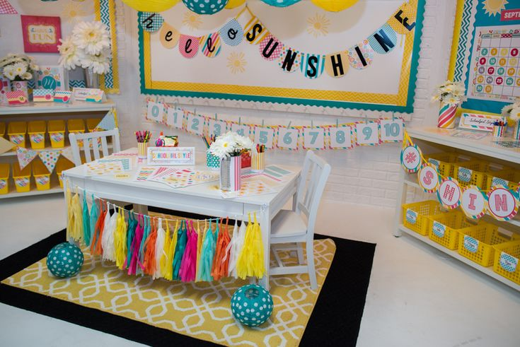 Decorating ideas for classrooms