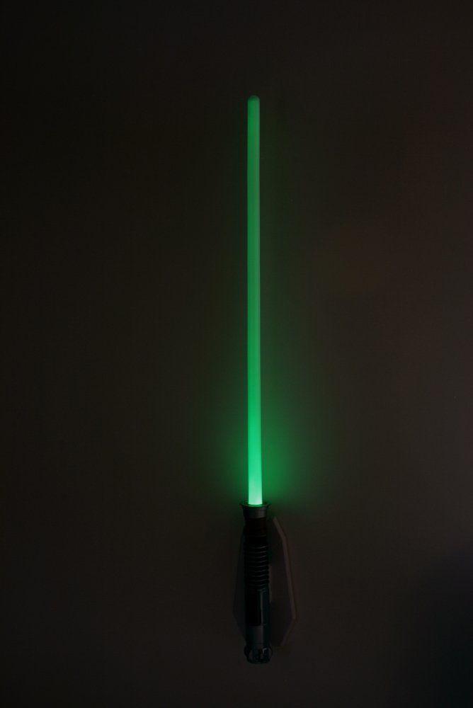 Uncle Milton Star Wars Remote Control Lightsaber Room Light Luke