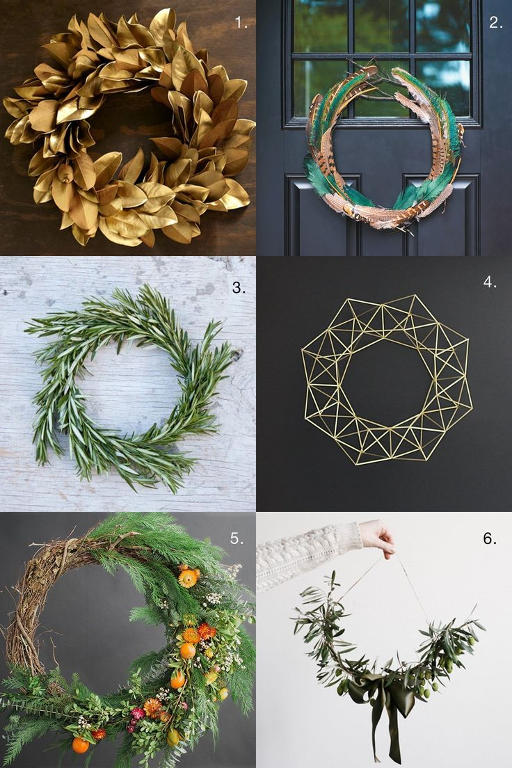 Beautiful Wreath Ideas for the Holidays and